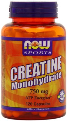 Creatine Monohydrate Capsules by Now Foods